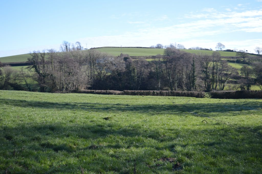 Accross Millands to the Kissing Gate