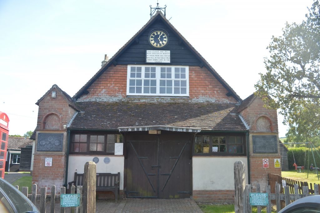 The village hall.  (Listed)