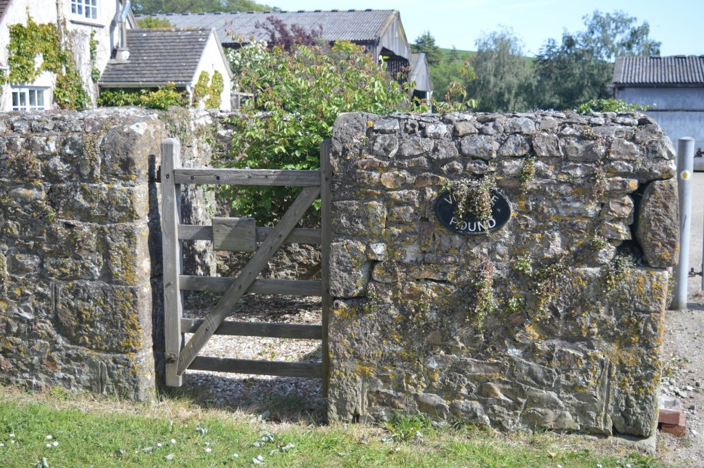 Wootton Fitzpaine Village Pound.  A secure enclosure for stray farm animals, in former times