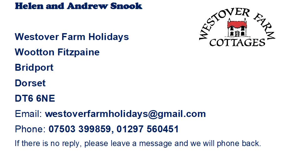 Contact Westover Farm